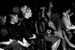 Kaki West at New York Fashion Week
