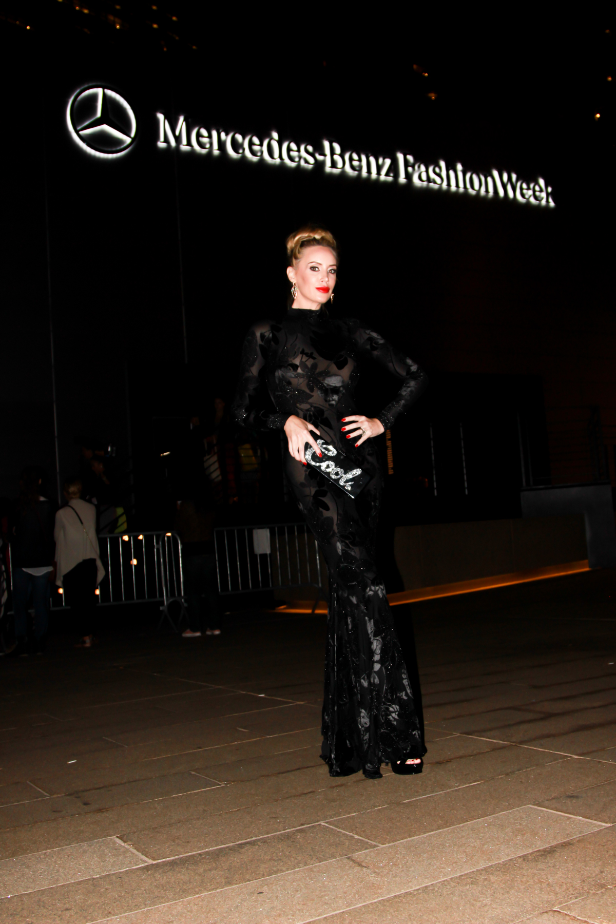 Kaki West at New York Fashion Week